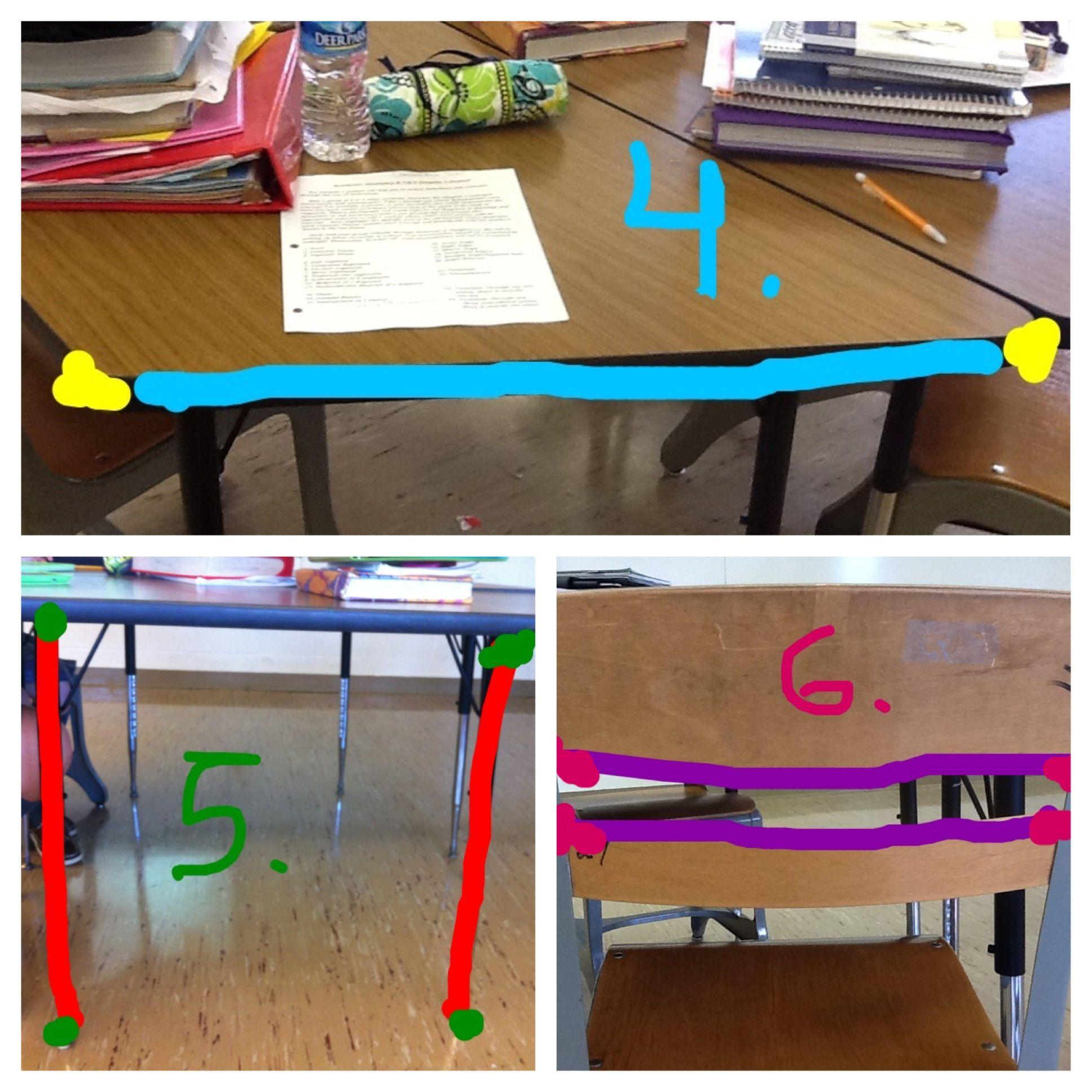 4 Line Segment 5 Congruent Segments 6 Parallel Segments