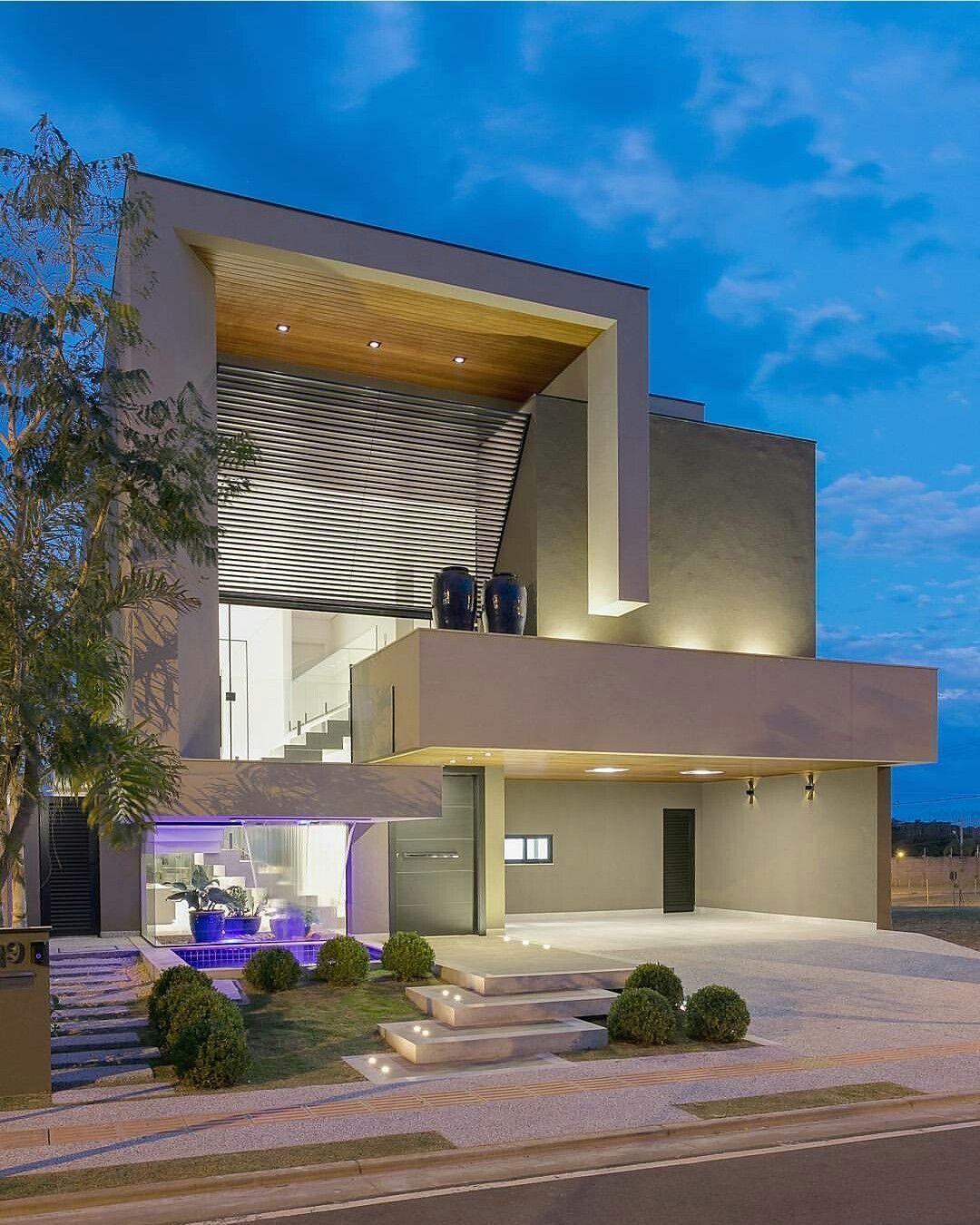 Pin de emmanuelle rea en home 3 casas modernas for 30 fachadas de casas modernas dos sonhos