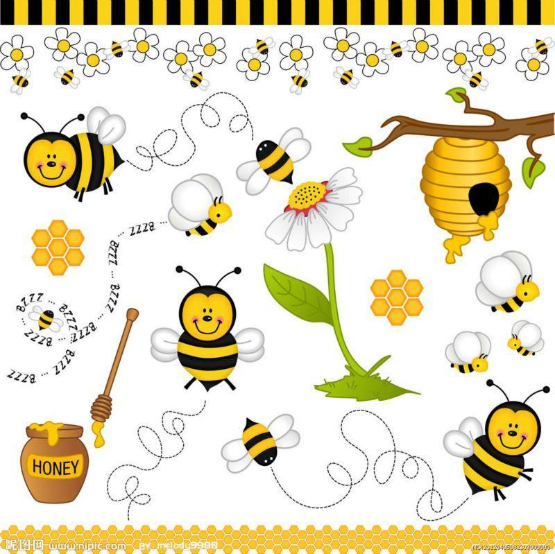 imagenes vintage abejas infantiles  Buscar con Google  deco