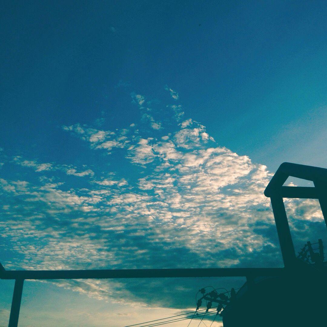 Sempre haverá um céu azul, em algum lugar do mundo!