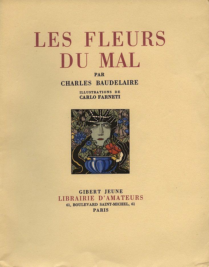Les Fleurs Du Mal Par Charles Baudelaire Illustrations De Carlo