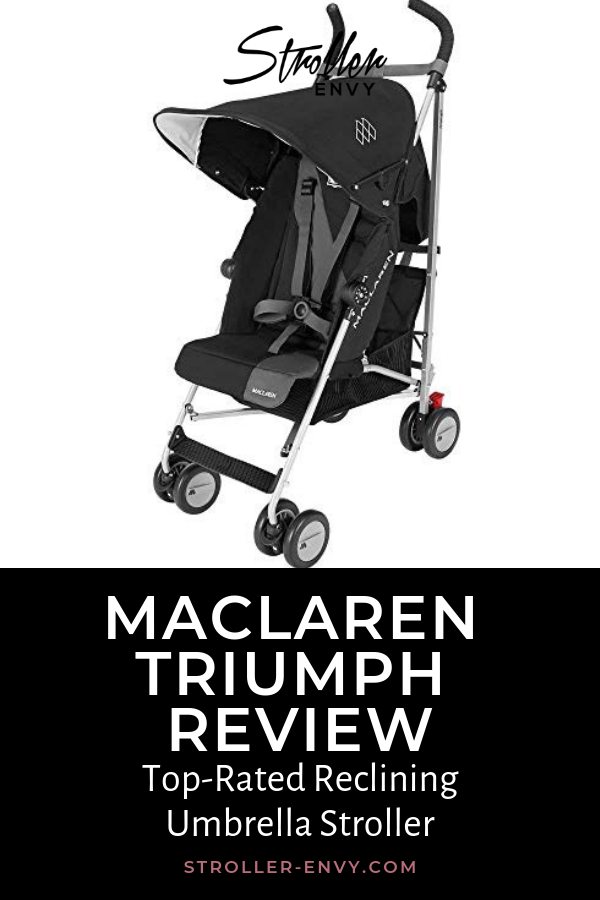 Maclaren Triumph Review TopRated Reclining Umbrella