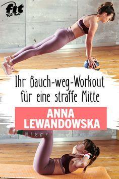 Photo of Workout: Bauch weg mit Anna Lewandowska – FIT FOR FUN