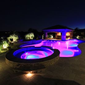 Best 25 inground pool lights ideas on pinterest for Beautiful spas near me