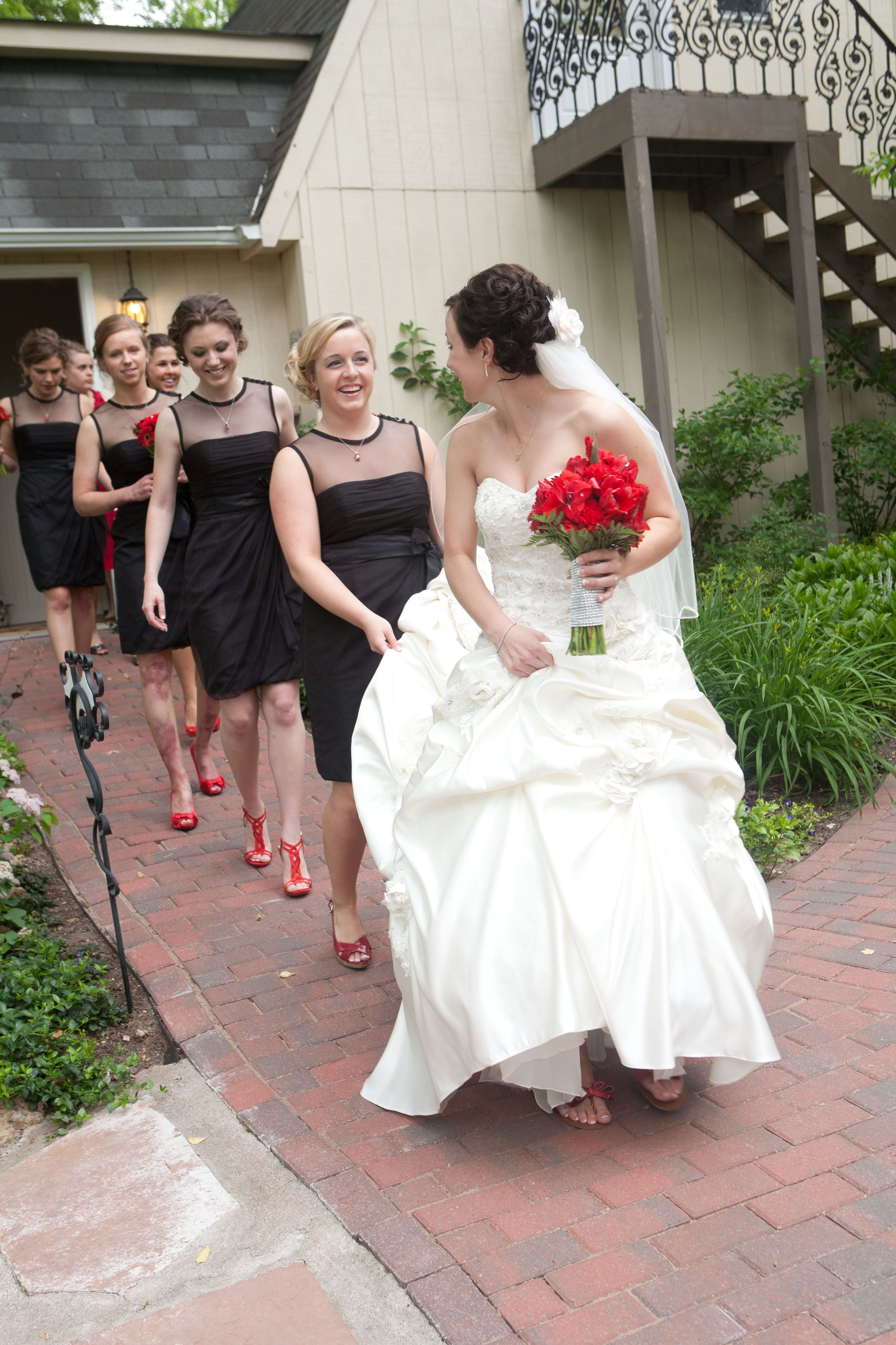 No Bride Could Walk Down The Aisle Without Her Girls Minneapolisweddingphotography Brides Minneapolis Wedding Photography Movie Theme Wedding Wedding Shots