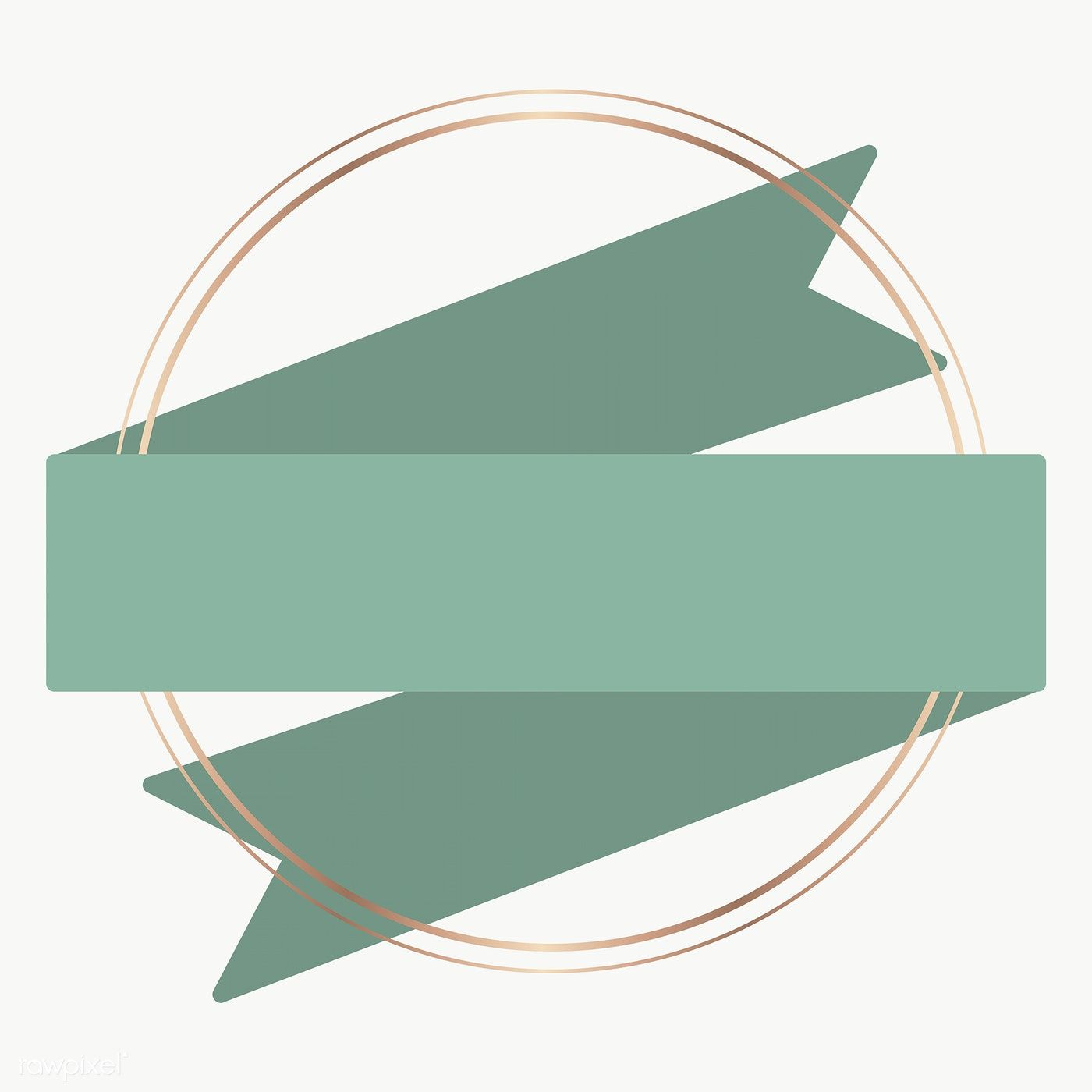 Gold Frame With Green Ribbon Banner Transparent Png Premium Image By Rawpixel Com Nunny Ribbon Banner Frame Logo Green Ribbon