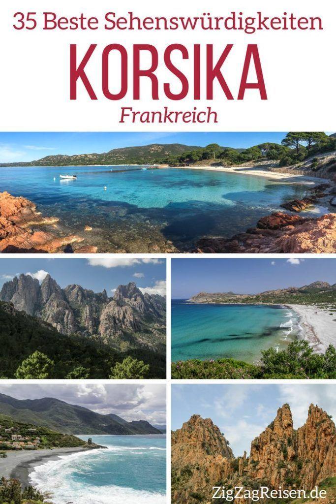 Top 35 Korsika Sehenswürdigkeiten (mit wunderschöne Fotos)