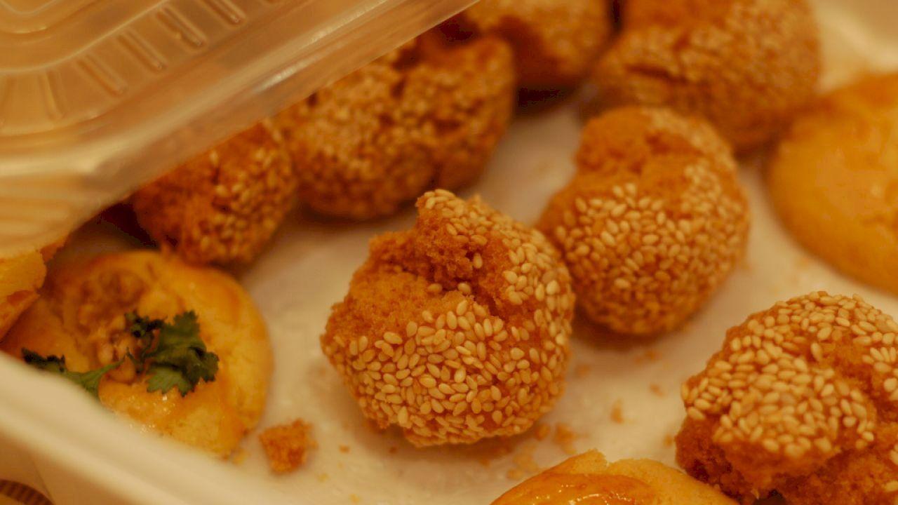 طريقة حلى بسكوت السمسم Sesame Cookies Cookies Sweet