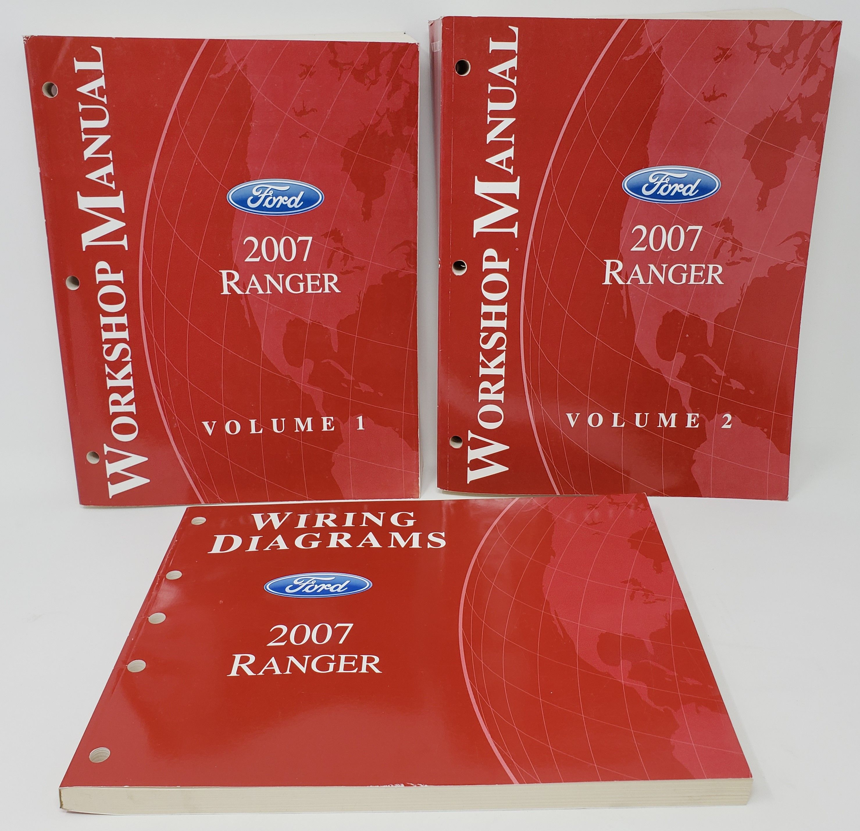 Details About 2007 Ford Ranger Volume 1  U0026 2 Workshop