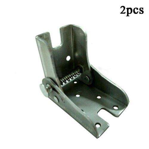 Metal Locking Folding Table Chair Leg Brackets Cabinet Hinges for Furniture