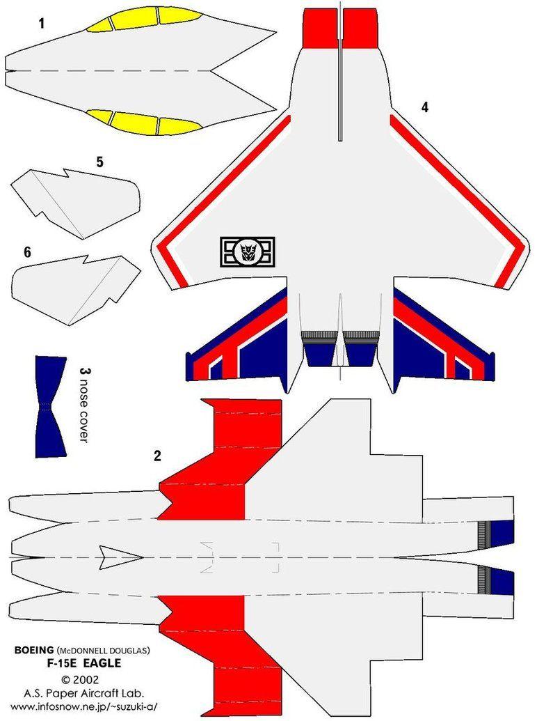 Starscream G1 Paper Airplane by skywarpG1 on DeviantArt