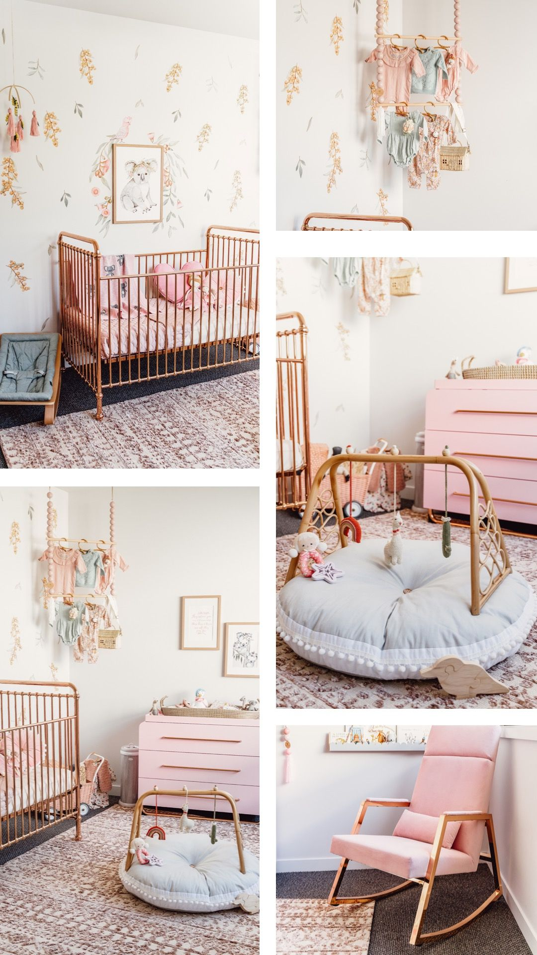 Australia Themed Baby Girls Nursery in 2020 Baby girl