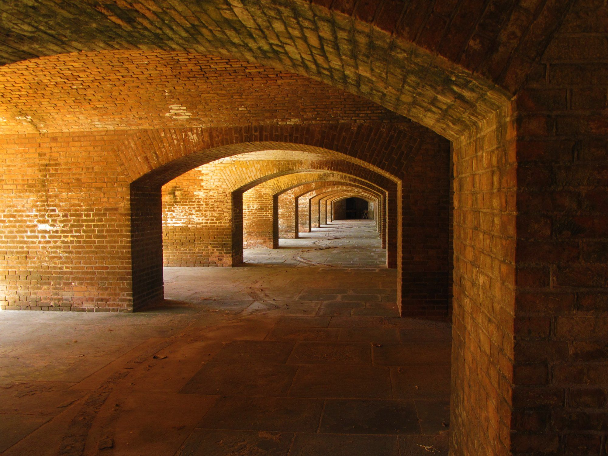 Dry Tortugas Natl Park: Fort Bastions - Dry Tortugas National Park