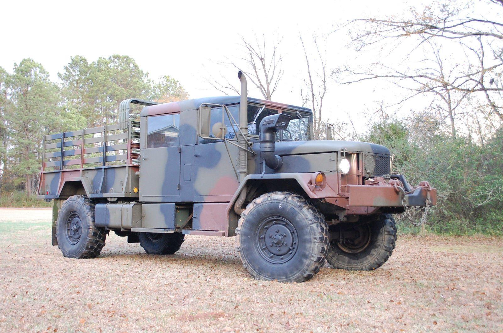 Details about 1972 AM General M35A2 CREW CAB 2 5 Ton Deuce
