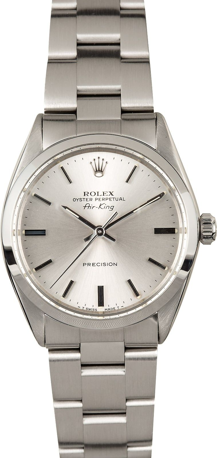 Rolex Air King 5500 Stainless Steel 100 Authentic Rolex