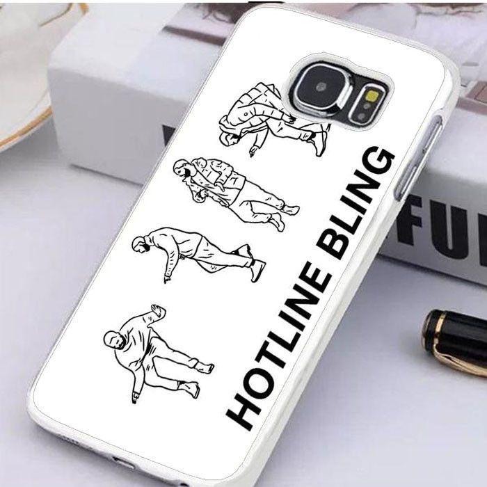 Drake Hotline Bling Fan Art Samsung Galaxy S6 Edge Plus Case