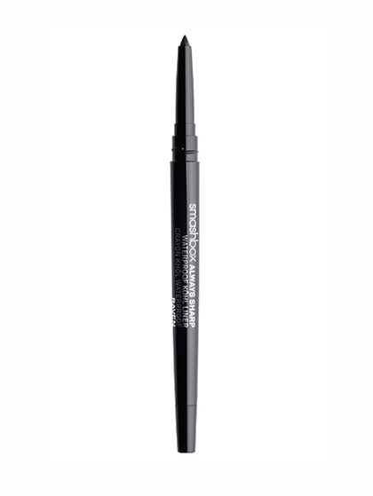 Smashbox Always Sharp Waterproof Kôhl Liner Eyeliner in the summer tends to last about as long as a Bomb Pop. But this stuff stays put and makes your life easier: The top has a built-in blade that sharpens the pencil every time you uncap it. Hey, man, it's the little things.