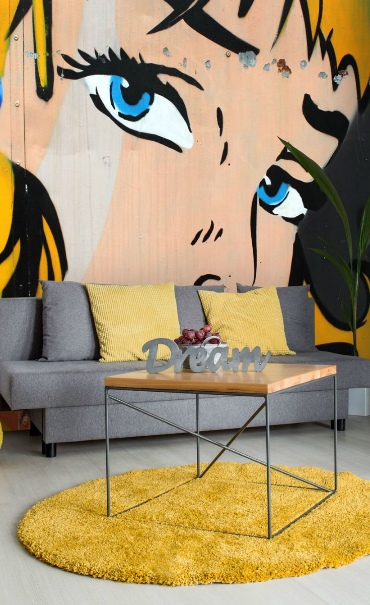 Dorable Pop Art Wall Murals Pattern - Art & Wall Decor - hecatalog.info