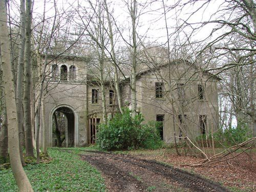old abandoned mansions for free | Haddo House ~ Sad old Italianate