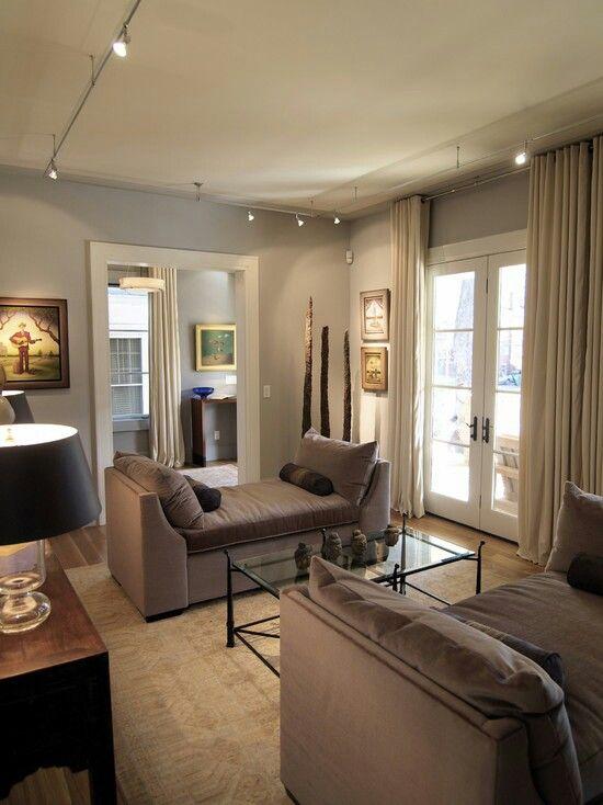 Living Room Track Light Options