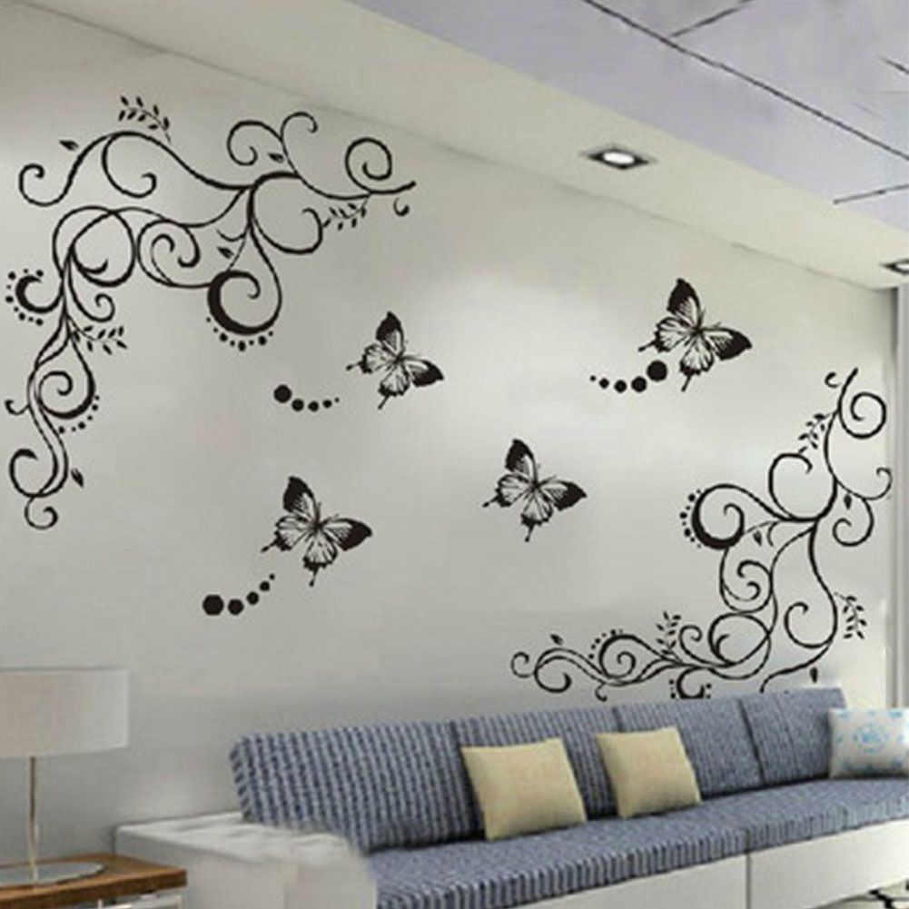 £3.77 GBP   Butterfly Wall Decal Mural Sticker Diy Art Removable Pvc Home Room  Decoration