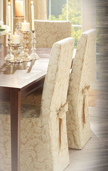 Dining Room Chairs   Sure Fit Slipcovers   Houses   Pinterest ...