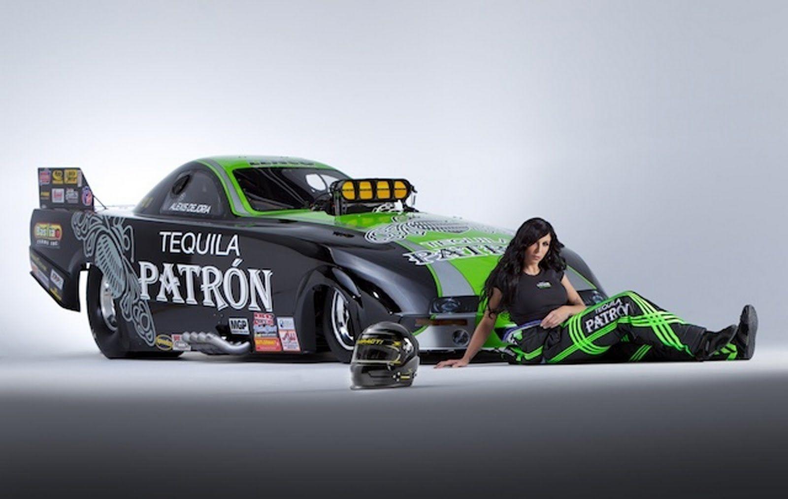 The race cars