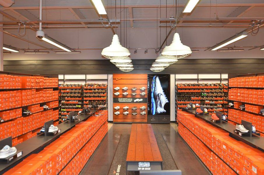 The Nike Factory Store At Las Americas Premium Outlets In San Ysidro Has A New Look Shown Here