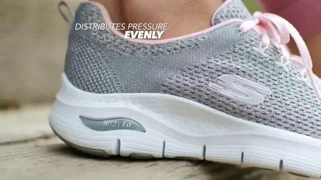 skechers arch support sneakers