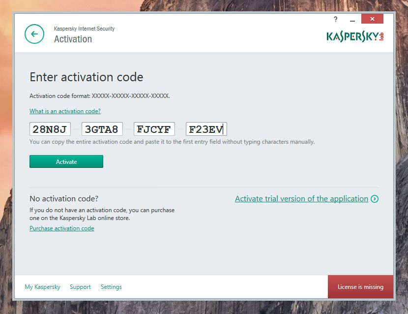 Kaspersky Internet Security 2019 One Year Activation Code