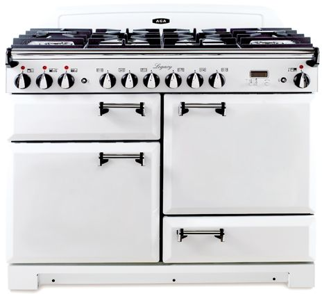 Well, I think I decided this is the one.  AGA Legacy Vintage White with solid doors