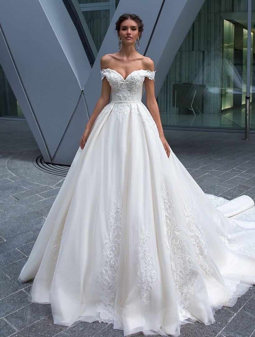 c28e031822 Crystal Design: ELVA dress. | Crystal Design Wedding Dresses in 2019 ...