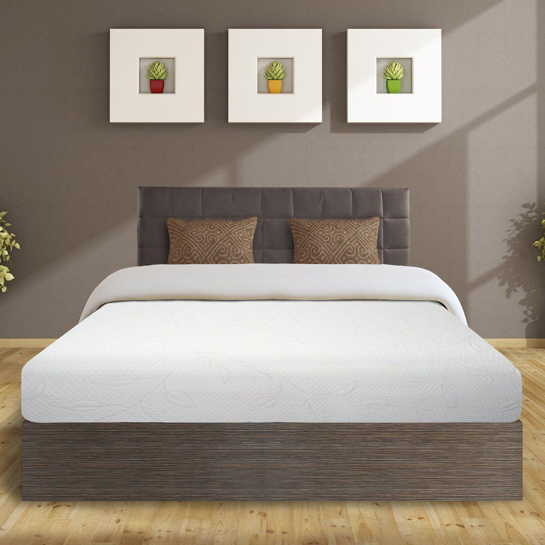Best Price Mattress 8\' Air Flow Memory Foam Mattress, Queen, White ...