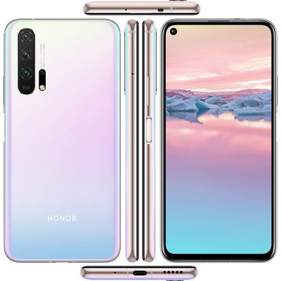 Honor 20 Pro256 Gb Icelandic Frost 4g Lte Best Selfie Camera Honor Mobile Computer Supplies
