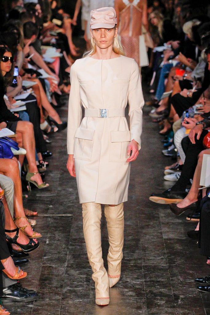 Victoria Beckham Spring 2012 ReadytoWear Fashion Show in