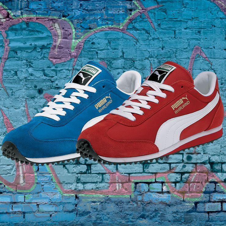 Puma men's Whirlwind sneakers