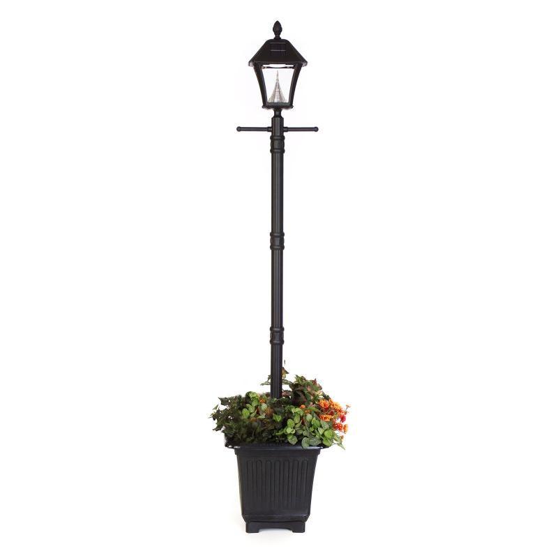 solar light malaysia solar lamp post light garden plants rh pinterest com Lamp Post Wiring Underground Installing Outdoor Lamp Post