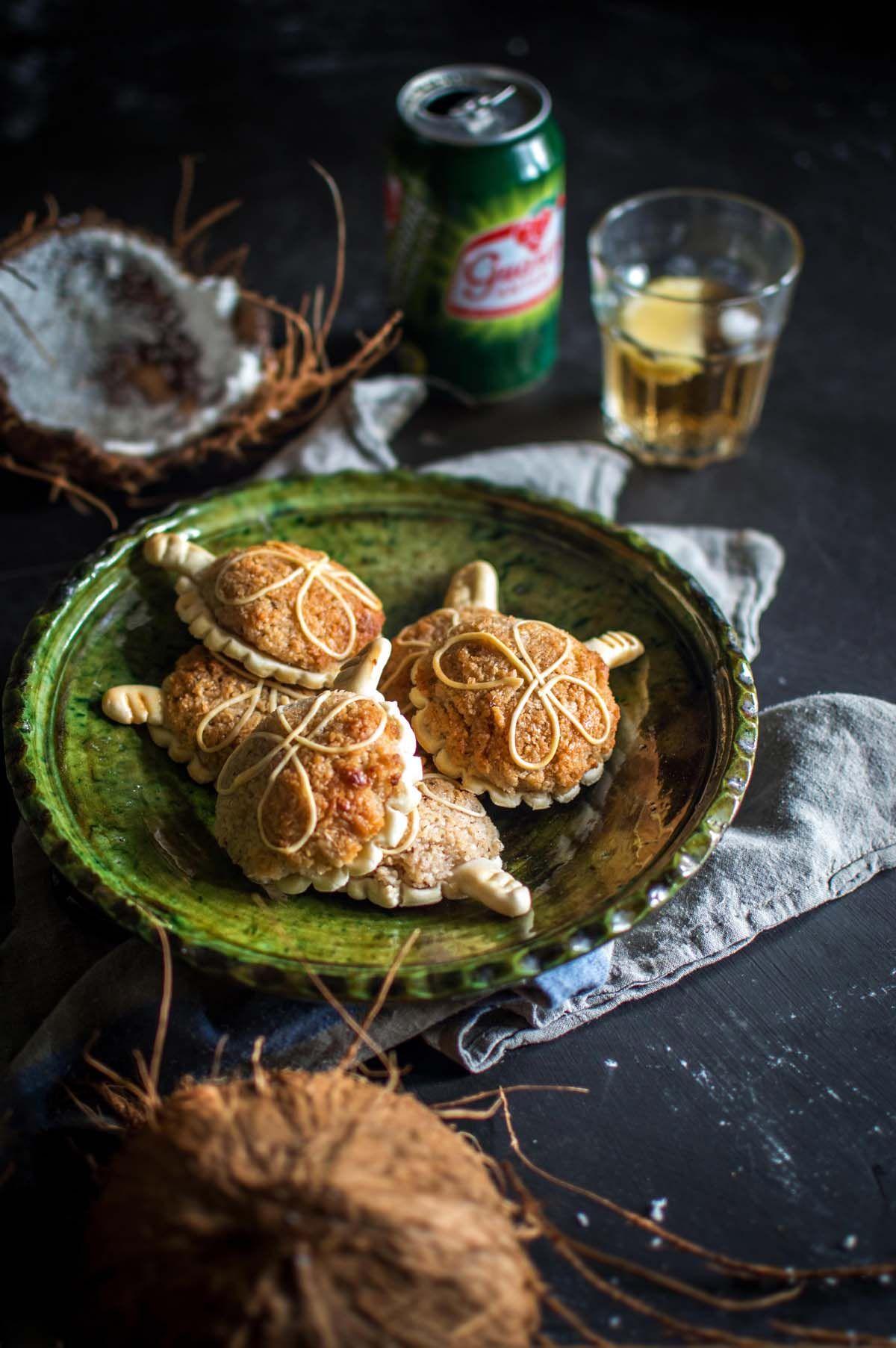 Doces de espécie - Coconut Cookies