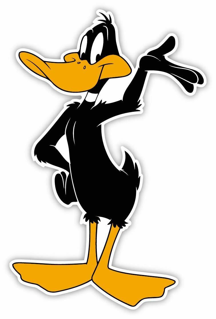 Looney Tunes Daffy Duck Cartoon Sticker Bumper Decal /'/'SIZES/'/'
