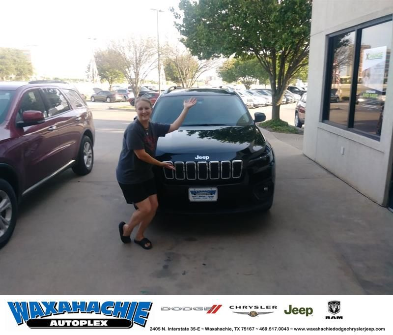 Congratulations Ashley On Your Jeep Cherokee From William Minter