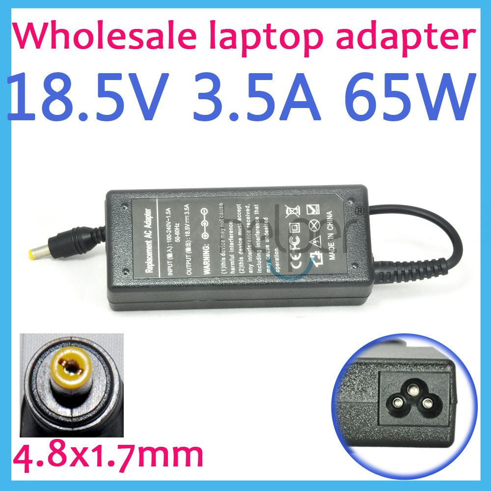18 5V 3 5A 65w Universal AC Adapter Battery Charger for HP