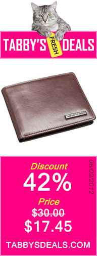 Geoffrey Beene Men's Passcase Billfold $17.45