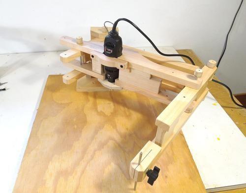 dremel tool mount for the pantograph jigs pinterest werkzeuge fr sen und holz. Black Bedroom Furniture Sets. Home Design Ideas