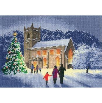 Country Churches (cross stitch)