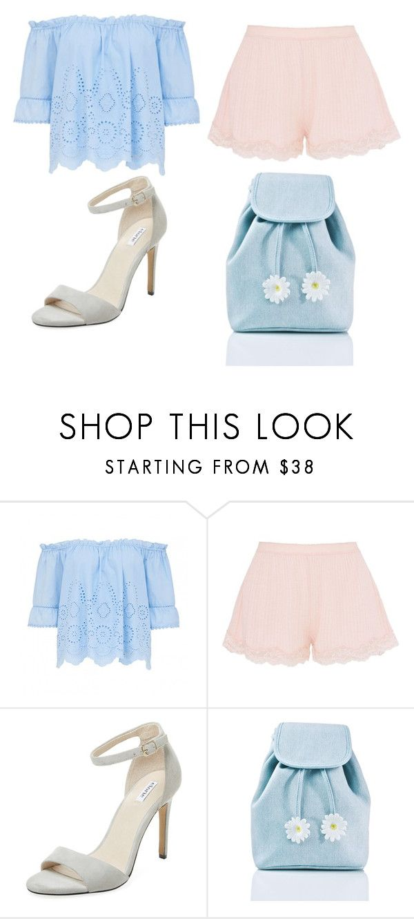 """Cute pastel outfit for summer"" by unicorn-636 ❤ liked on Polyvore featuring STELLA McCARTNEY, Elorie and Sugarbaby"
