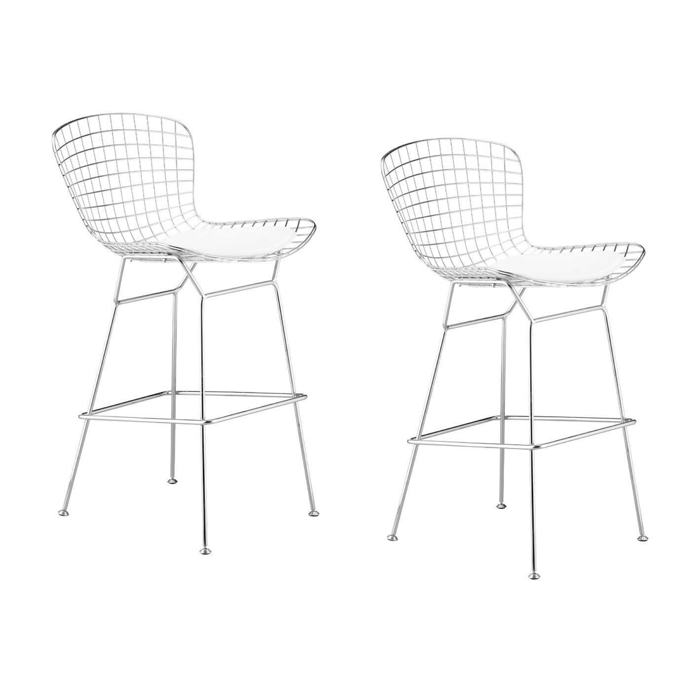 Zuo Modern Wire Bar Stool Set Of 2 At Lowe S Canada Find