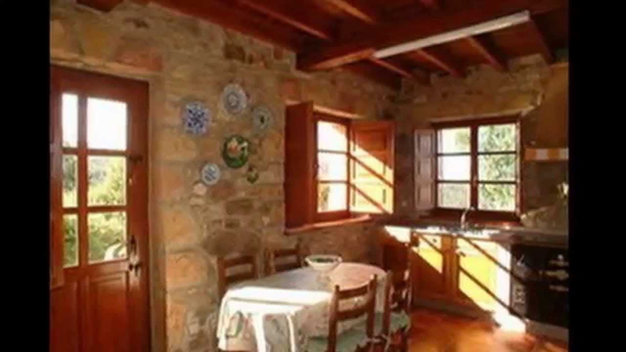 Muebles rusticos de living y cocina | Decoracion de cocinas ...