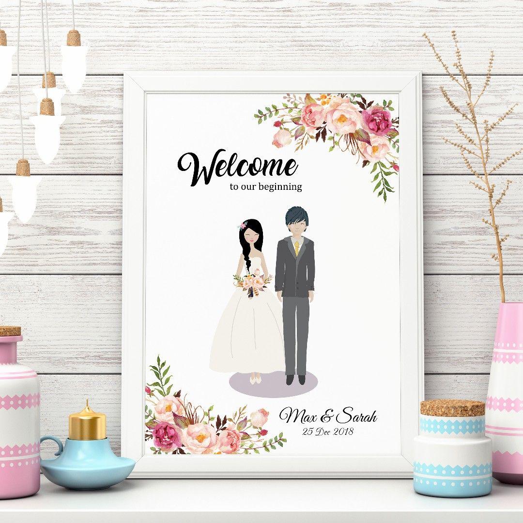Buy [somegoodwords] Wedding Sign, Wedding Guest Book