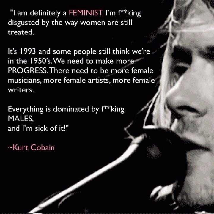 Nirvana Were a Feminist Band - YouTube  |Nirvana Feminism