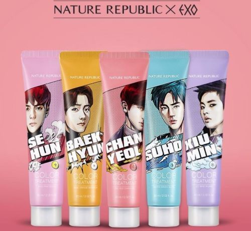 Nature Repulic Exo Limited Edition Hair Nature Color Treatment 60ml Korea Ebay Exo Merch Exo Jewelry Exo